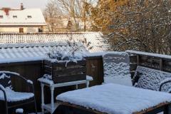 Ferienwohnung Wielenbach Terrasse